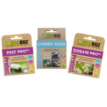 EcoBuz Complete Growing Starter Pack - 3 Doses Each