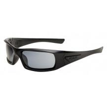 ESS 5B High Impact Sunglasses - Black Frame, Smoke Grey Lenses