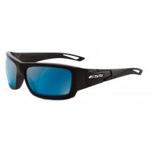 ESS Credence Ballistic Sunglasses - Black Frame, Mirrored Blue Lenses