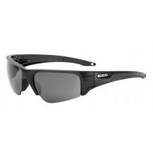 ESS Crowbar Ballistic Sunglasses - Black Frame, Clear & Smoke Grey Lenses, Silver Logo