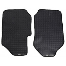 Buy the Escape Gear Ford Ranger Double Cab Xl 2016 Floor Mats - Front Row  featuring protects your carpet, 4mm coin finish, solid rubber and more. Review Escape.