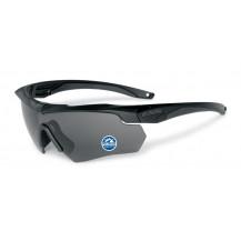 ESS Crossbow Polarized Ballistic Glasses Kit - Black Frame