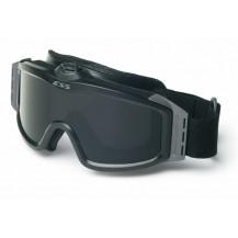ESS Profile Turbo Fan Ballistic Goggles - Black Frame, Smoke Grey Lens