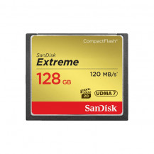 SanDisk Extreme CompactFlash Memory Card - 128GB
