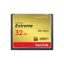SanDisk Extreme CompactFlash Memory Card - 32GB