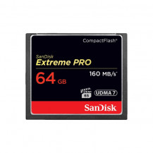 SanDisk Extreme Pro CompactFlash Memory Card - 64GB