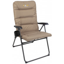 Oztrail Coolum 5 Position Padded Camping Arm Chair