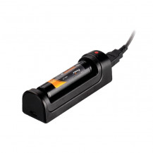 Fenix ARE-X1 18650 Single Charger Bay with x1 Fenix 18650 ARB-LM2 2600mAh Li-ion Battery