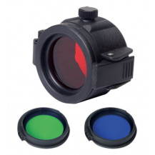 Nextorch FT32 Flashlight Filter Kit with Mould - Red, Blue, Green