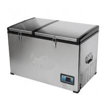 FLEX BCD100 Stainless Steel Fridge-Freezer