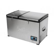 Flex Bcd80 Fridge-Freezer - Stainless Steel