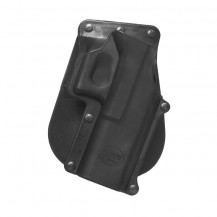 fobus gl3 paddle holster - left handed - front