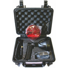 Gamepro Ninox 25W LED AD/DC Recharge Spotlight with Handle and Case - 2000 Lumens