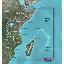 Garmin BlueChart g2 HD Micro SD Card - Eastern Africa, HXAF001R