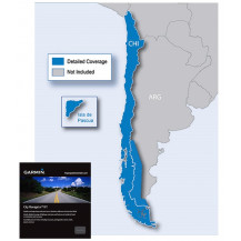 Garmin City Navigator MicroSD/SD Card - Chile NT