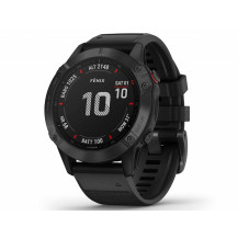 Garmin Fenix 6 Pro Multisport GPS Watch - Black/Black - Front View