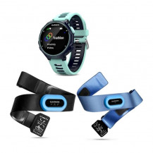 Garmin Forerunner 735XT Fitness Watch Tri Bundle - Blue