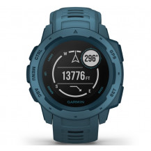Garmin Instinct GPS Watch - Lakeside Blue - Front View