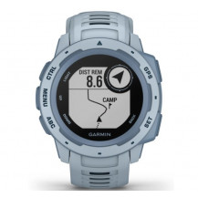 Garmin Instinct GPS Watch - Sea Foam - Front View