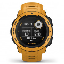 Garmin Instinct GPS Watch - Sunburst - Front View