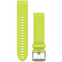Garmin QuickFit Silicone Band - Amp Yellow, 20mm