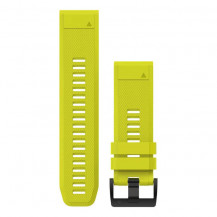 Garmin QuickFit Silicone Band - Amp Yellow, 26mm