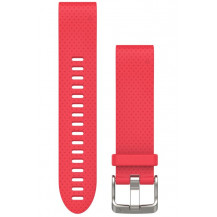 Garmin QuickFit Silicone Band - Azalea Pink, 20mm