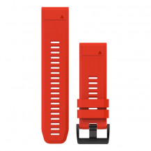 Garmin QuickFit Silicone Band - Flame Red, 26mm