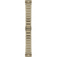 Garmin QuickFit Stainless Steel Band - Goldtone, 20mm