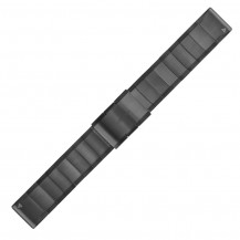 Garmin QuickFit Stainless Steel Band - Slate Grey, 22mm