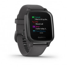 Garmin Venu Sq Smart Watch - Slate Aluminium Bezel