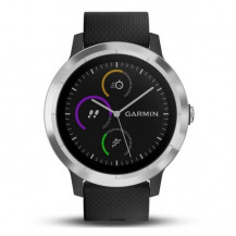 Garmin Vivoactive 3 Stainless Steel - Black