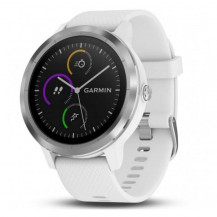Garmin Vivoactive 3 Stainless Steel - White