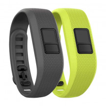 Garmin Vivofit 3 Accessory Band Bundle - Grey and Green (Bands ONLY, Vivofit 3 NOT Included)