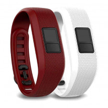 Garmin Vivofit 3 Accessory Band Bundle - Marsala and White (Bands ONLY, Vivofit 3 NOT Included)