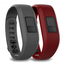 Garmin Vivofit 3 Accessory Band Bundle - Slate and Marsala (Bands ONLY, Vivofit 3 NOT Included)