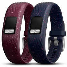 Garmin Vivofit 4 Bands Bundle - S/M, Merlot & Navy Speckle - Vivofit Devices NOT Included