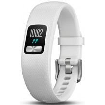 Garmin Vivofit 4 Fitness Watch- S/M, White