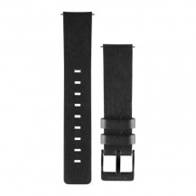 Garmin Vivomove Quick Release Leather Band - Black