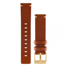 Garmin Vivomove Quick Release Leather Band - Light Brown