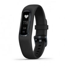 Garmin Vivosmart 4 Watch - Midnight With Black Band, Large