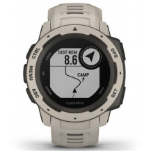Garmin Instinct GPS Watch - Tundra - Front View