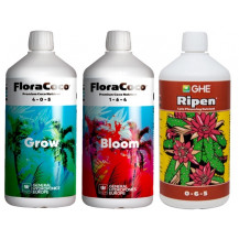 General Hydroponics FloraCoco Grow/Bloom + Ripen Tripack - 500ml x3
