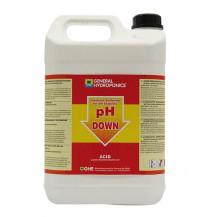 General Hydroponics pH Down - 5L
