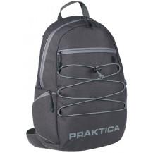 Praktica Travel Backpack for Binoculars, Cameras and Tablet - Grey