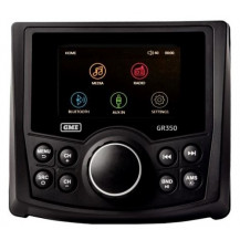 GME GR350BTW AM/FM Marine Radio - w/Bluetooth, USB/AUX Input - Front View