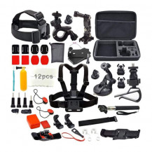 GoXtreme Sports Camera Accessories Set - 26 Piece