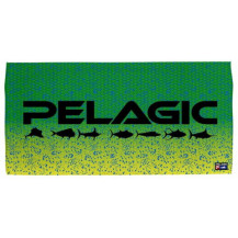 Pelagic Logo Towel - Dorado Green