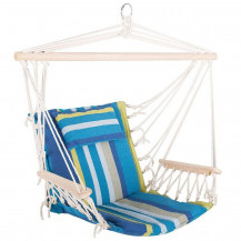The Oztrail Anywhere Hammock Chair - Blue