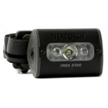 Nextorch Trek Star UV LED Headlamp - 140 Lumens, Black